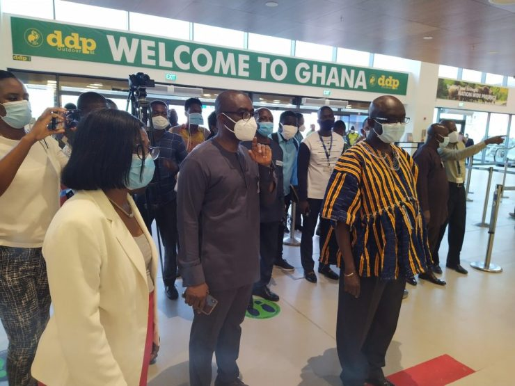 Ghana's international airport re-opening: PCR test required for all new arrivals
