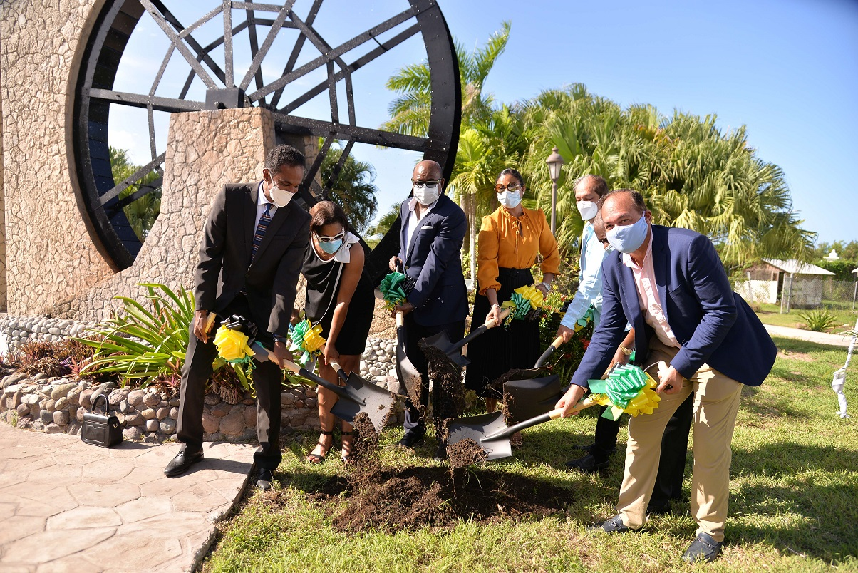 , Jamaica's Tourism Minister Bartlett breaks ground for iconic shopping experience, For Immediate Release   Official News Wire for the Travel Industry