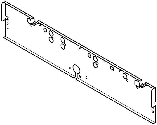 CMX-5000: Rückwand