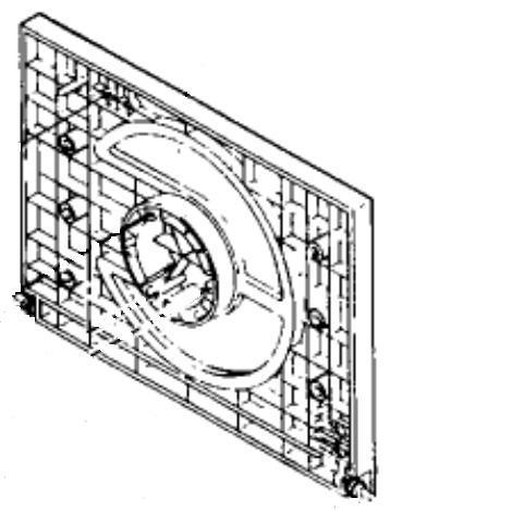 CDJ-500 II: CD-Fachklappe