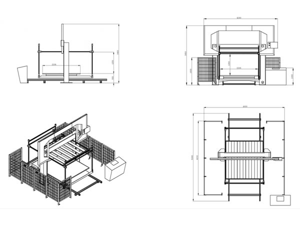 Foam Cutter (Horizontal CNC Contour Cutting Machine, Model