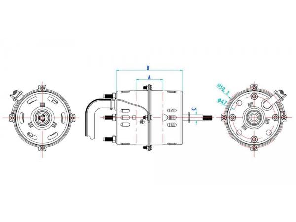 Capacitor Start Single Phase Induction Motor, YY5930