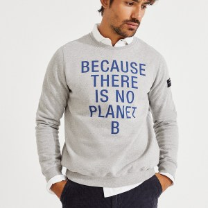 San Diego Because Sweatshirt – Gris