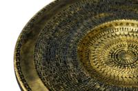 Large Black & Gold Platter-Wooden Wall Art-Black & Gold ...