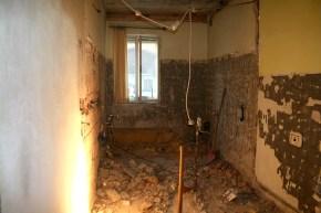 Hier entsteht ein neues Bad samt WC