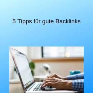 5 Tipps für gute Backlinks