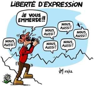Parlons plus fort : la liberté d'expression n'est pas négociable !