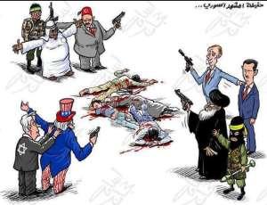 Alliances et rivalités au Moyen-Orient : les poupées russes de Kafka