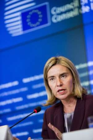 EU Foreign Affairs ministers discuss the implementation of the EU Global Strategy