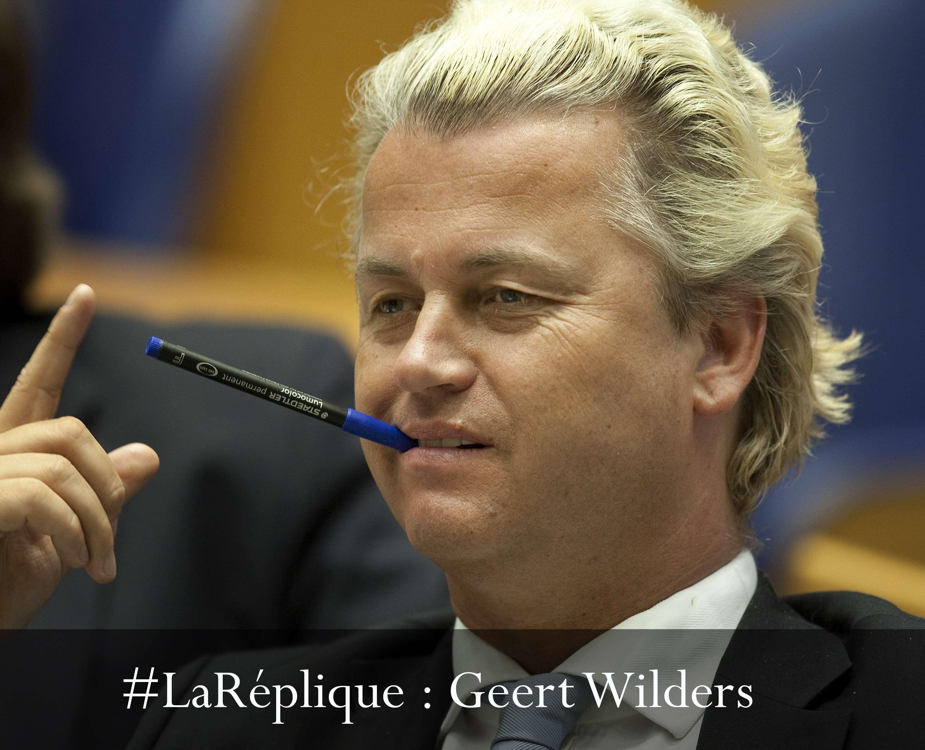 #LaRéplique à Geert Wilders, en procès pour discrimination et incitation à la haine