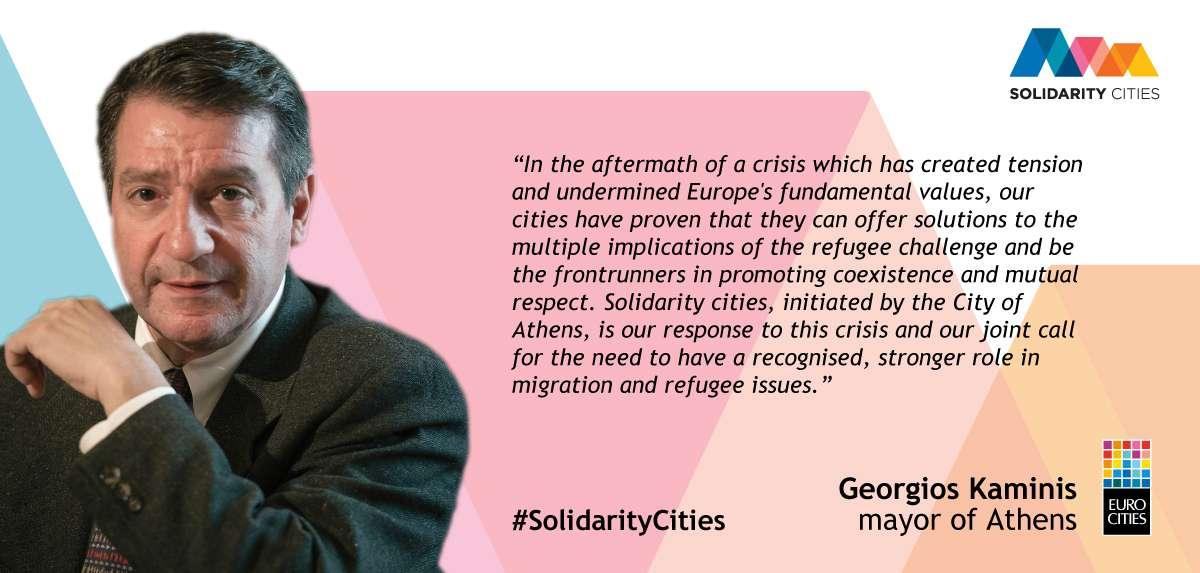 #Solidarity cities : la réponse locale à la crise des migrants