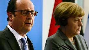 #Fait du jour Merkel et Hollande répondent à Trump: un ennemi qui tombe à pic !