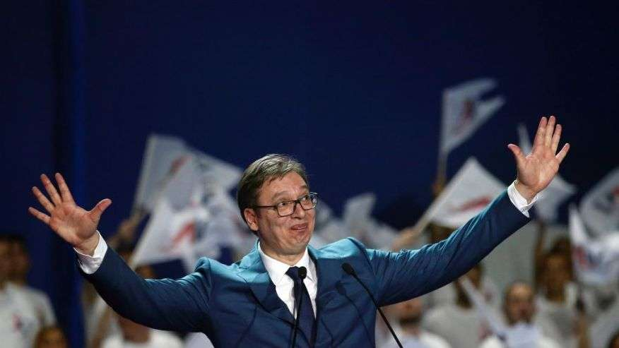 #FactOfTheDay: Serbia's Prime Minister Vučić  is the new President-elect