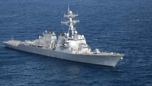 #FactOfTheDay 10/04/2018 – US warship in Syrian waters