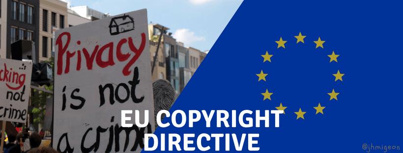 Censure et droits d'auteurs : les fausses bonnes idées de la Directive Copyright
