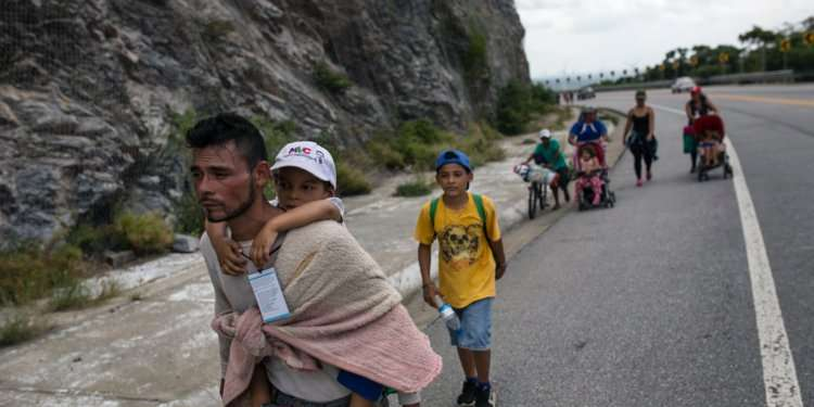 #FactOfTheDay 05 /11/2018 – The first wave of Central America migrants arrives in Mexico City