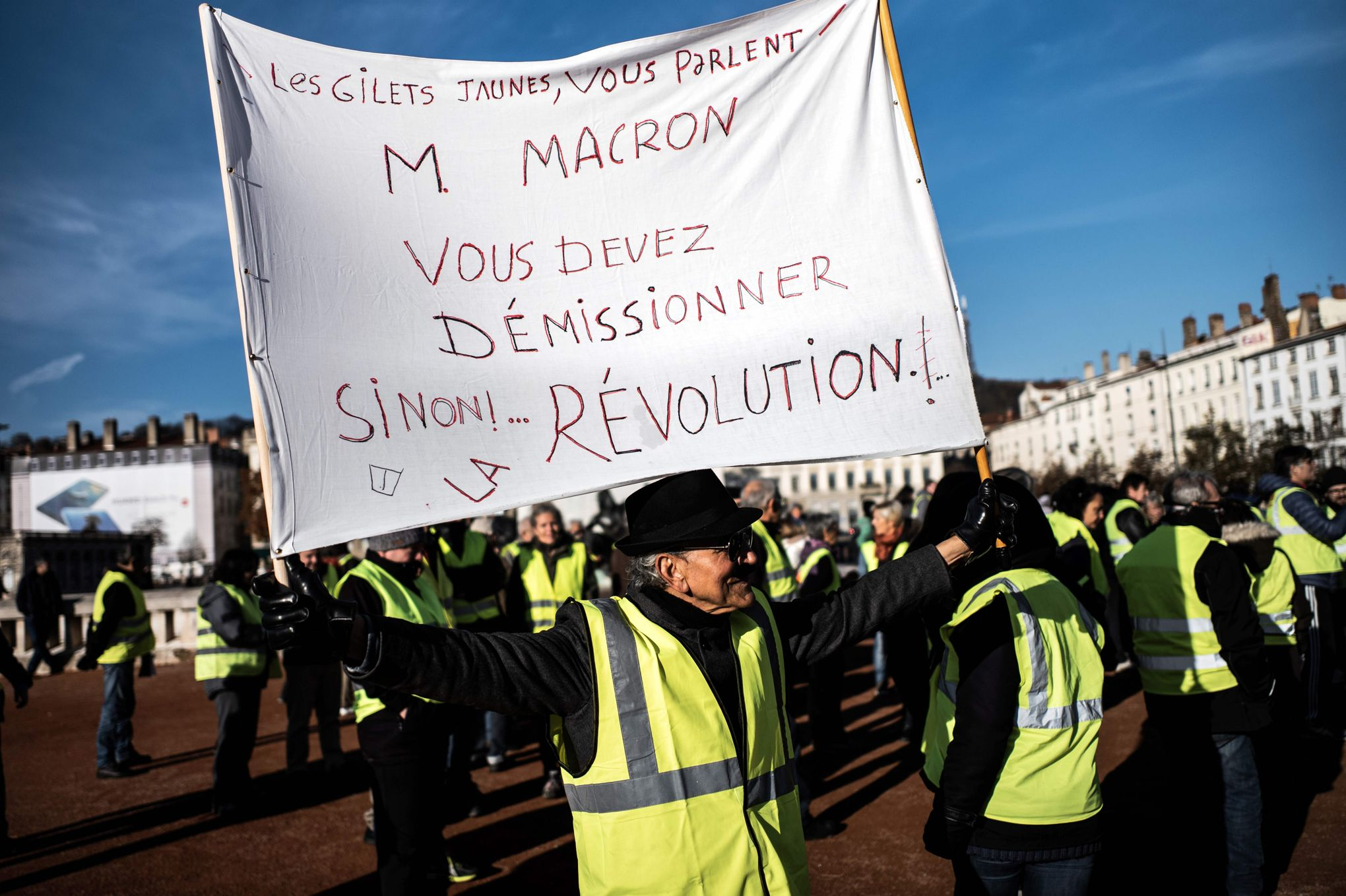 #FactOfTheDay 07/12/2018  – Protests are continuing in France