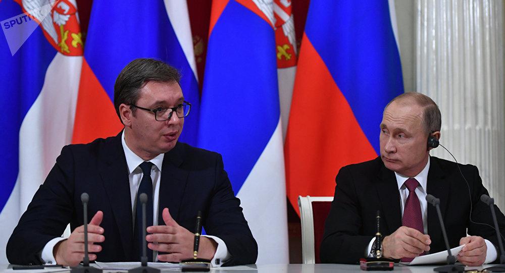 #FactOfTheDay 17/01/2019 – Putin meets Serbian President Aleksandar Vucic