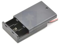 3 AA Battery Holder with Switch