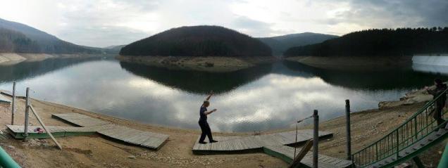 Lacul Valiug sec