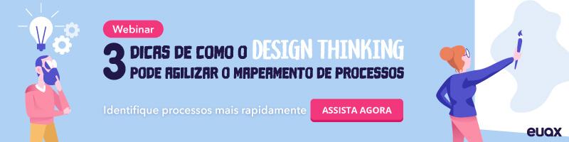 Design Thinking para Mapeamento de Processos