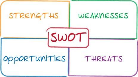 estrutura matriz swot