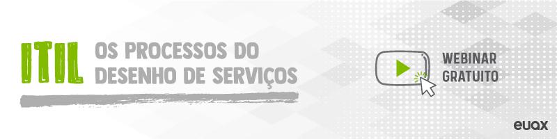 ITIL os processos do desenho de serviços