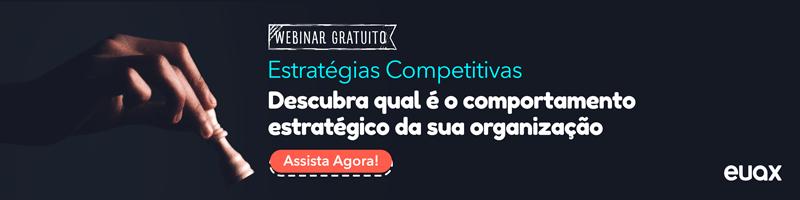 Estratégias Competitivas - Qual o comportamento estratégico da sua organização