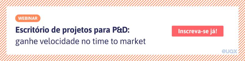 escritório de projetos para P&D