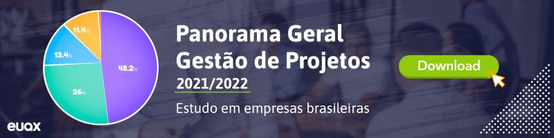 Panorama Gestão de Projetos 2021 2022
