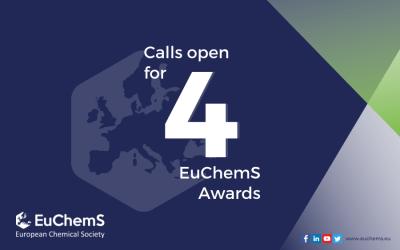 Calls open for 4 EuChemS Awards