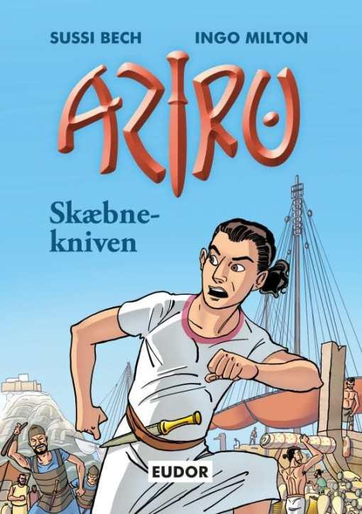 Aziru 1 Skæbnekniven af Sussi Bech og Ingo Milton - børnebøger