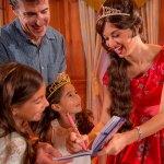 Fotos com Princesa Elena
