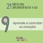 controle as emoções