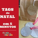 tags de natal com washi tape