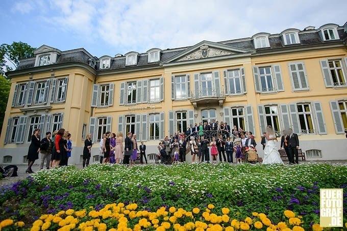 Hochzeit feiern auf Schloss Morsbroich Leverkusen