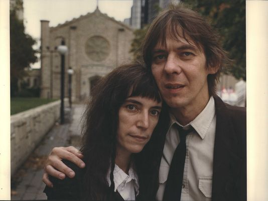 "- Patti Smith e Fred ""Sonic"" Smith"