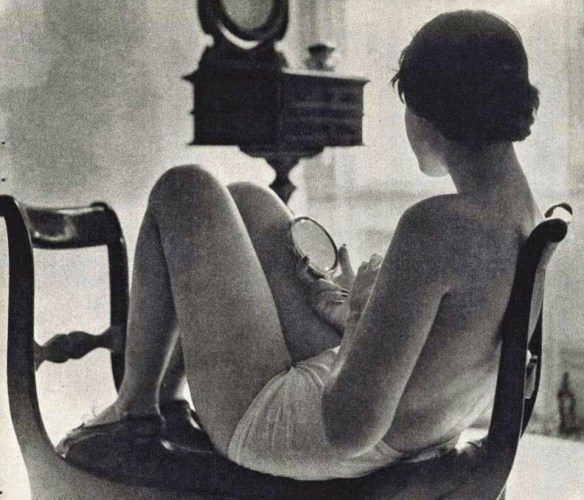 Debbie Shultz, foto di Harvey Turtz, 1952.