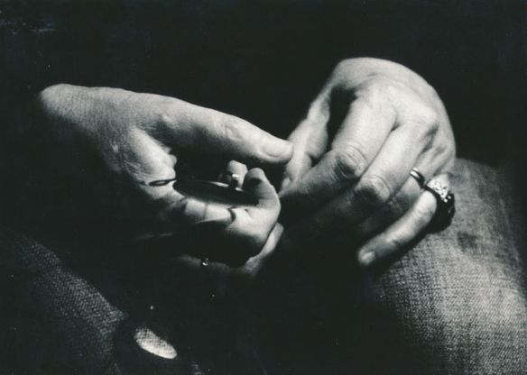 'Patti Smith's hands', foto di Fabio Torre.