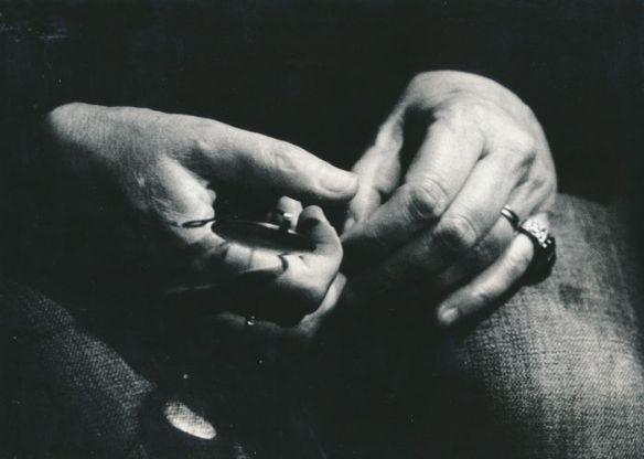 'Patti Smith's hands', foto di Fabio Torre.