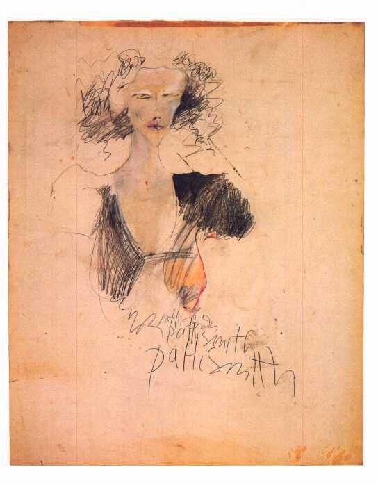 Patti Smith, autoritratto.