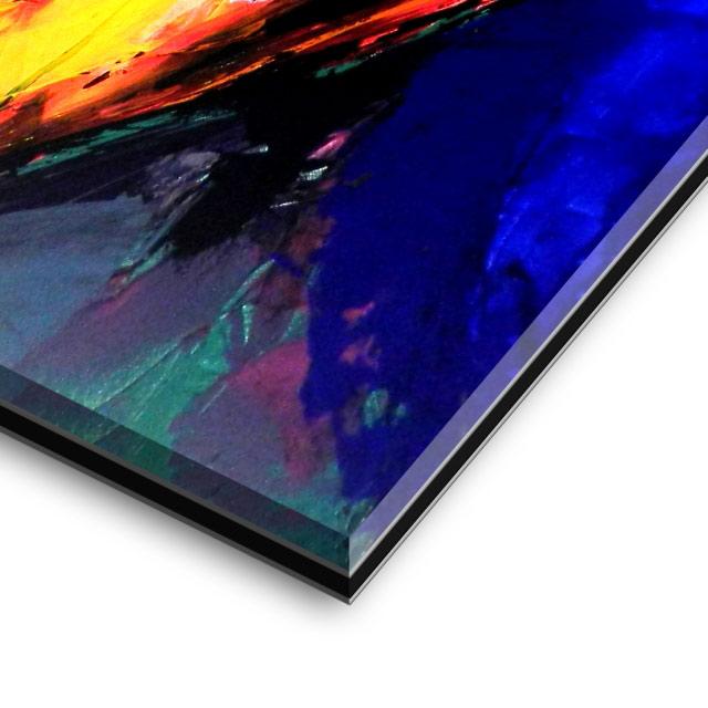 impression sous verre acrylique