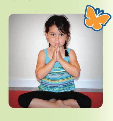 Imagination Yoga child