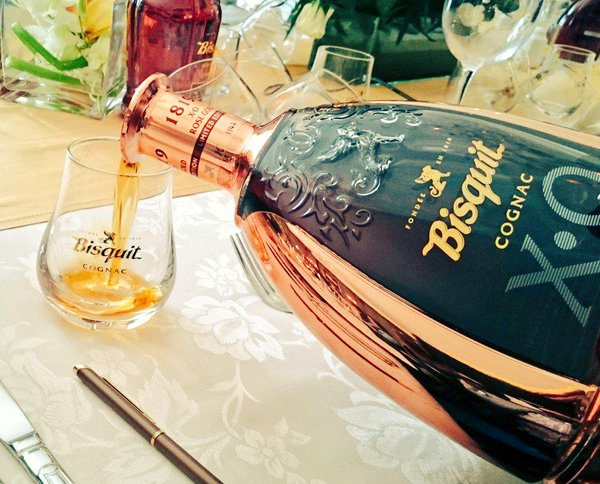 South Africa's first ever tasting of Bisquit's X.O Rose Gold