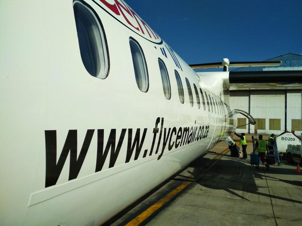 'Repatriation' flight on CEM Air (Copyright: Eugene Yiga)