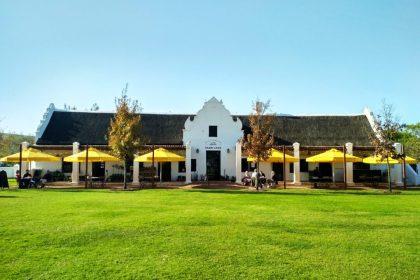 Spier Wine Farm in Stellenbosch (Copyright: Eugene Yiga)