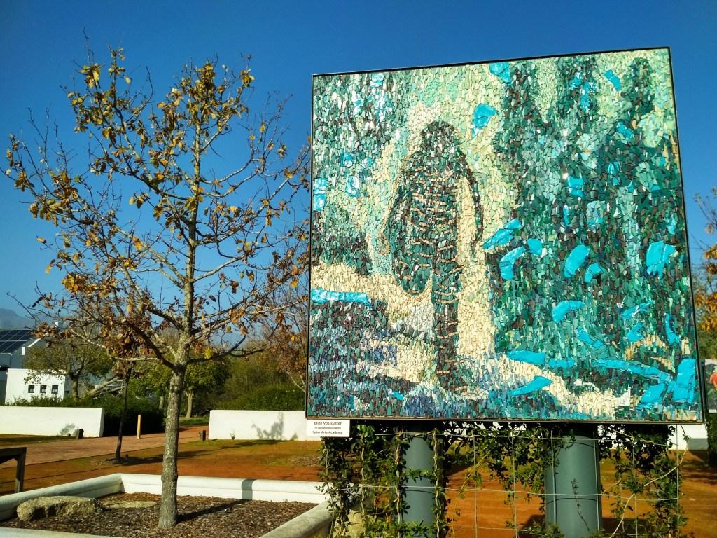 Mosaic art at Spier Wine Farm (Copyright: Eugene Yiga)