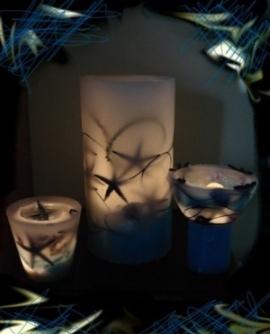 Σειρά Κεριά Εύκηρος με Θέμα τη Θάλλασα