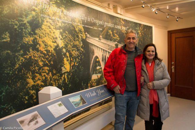 Museu dentro da vista house - Crown Point - Columbia River Highway