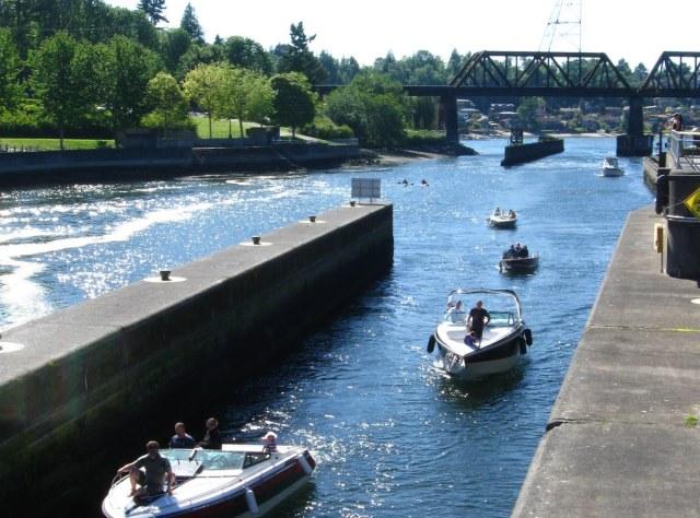 Turismo em Seattle: Ballard Locks